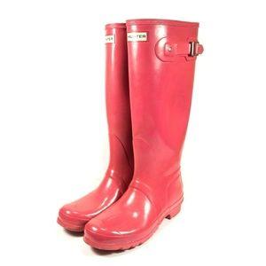 Hunter Waterproof Tall Adjustable Rain Boots